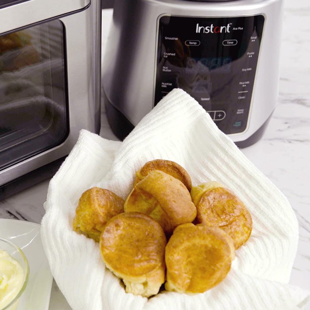 instant vortex plus mini popovers, instant vortex recipe