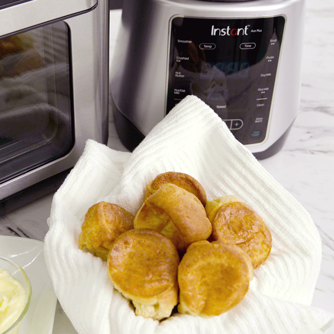 instant vortex plus mini popovers, instant vortex recipe