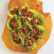 Instant pot lettuce wraps, asian lettuce wraps