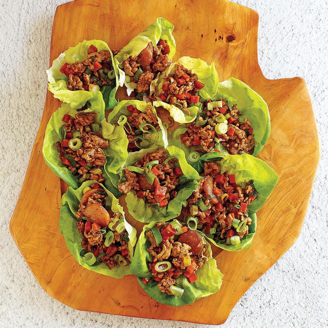 Instant pot lettuce wraps, asian lettuce wraps