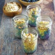 instant pot dessert recipe, instant pot, instant pot Mason jar recipes, instant pot blueberry recipes