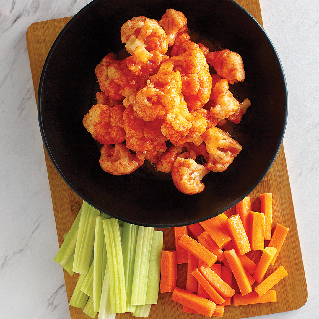 Instant Pot Buffalo cauliflower bites recipe, instant pot, instant pot cauliflower bites, vegan, instant pot vegan recipes