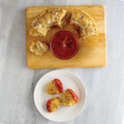 instant pot pull apart pizza bread, instant pot pizza bread, pizza bread, instant pot, instant pot recipes
