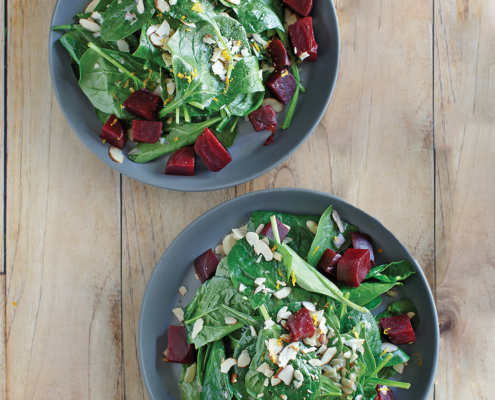 instant pot salad recipe, instant pot, instant pot spinach salad, pressure cooker recipe, instant pot vegan, vegan recipes