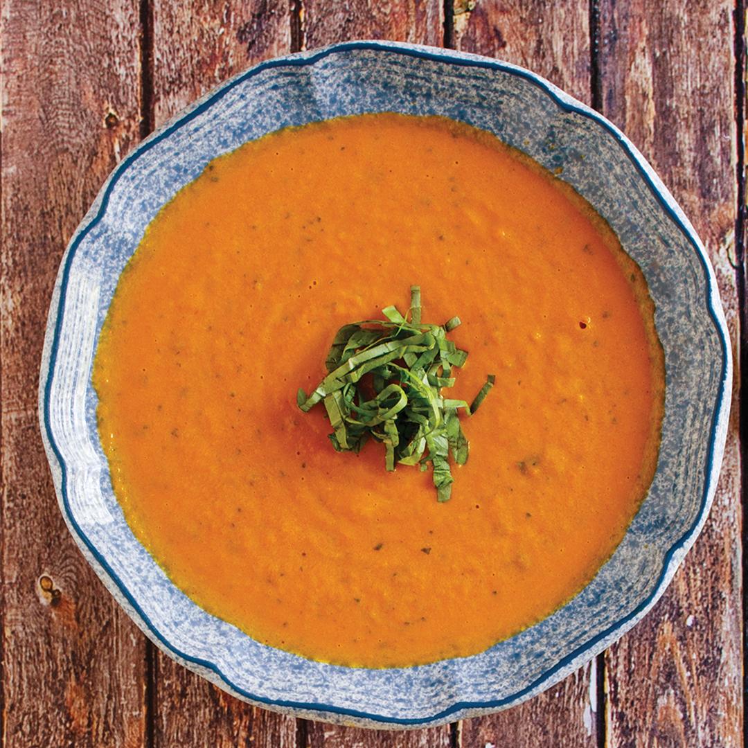 instant pot thai coconut carrot soup, instant pot soup, instant pot carrot soup, instant pot soup recipe