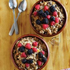 instant pot trail mix oatmeal, instant pot oatmeal, instant pot breakfast recipe