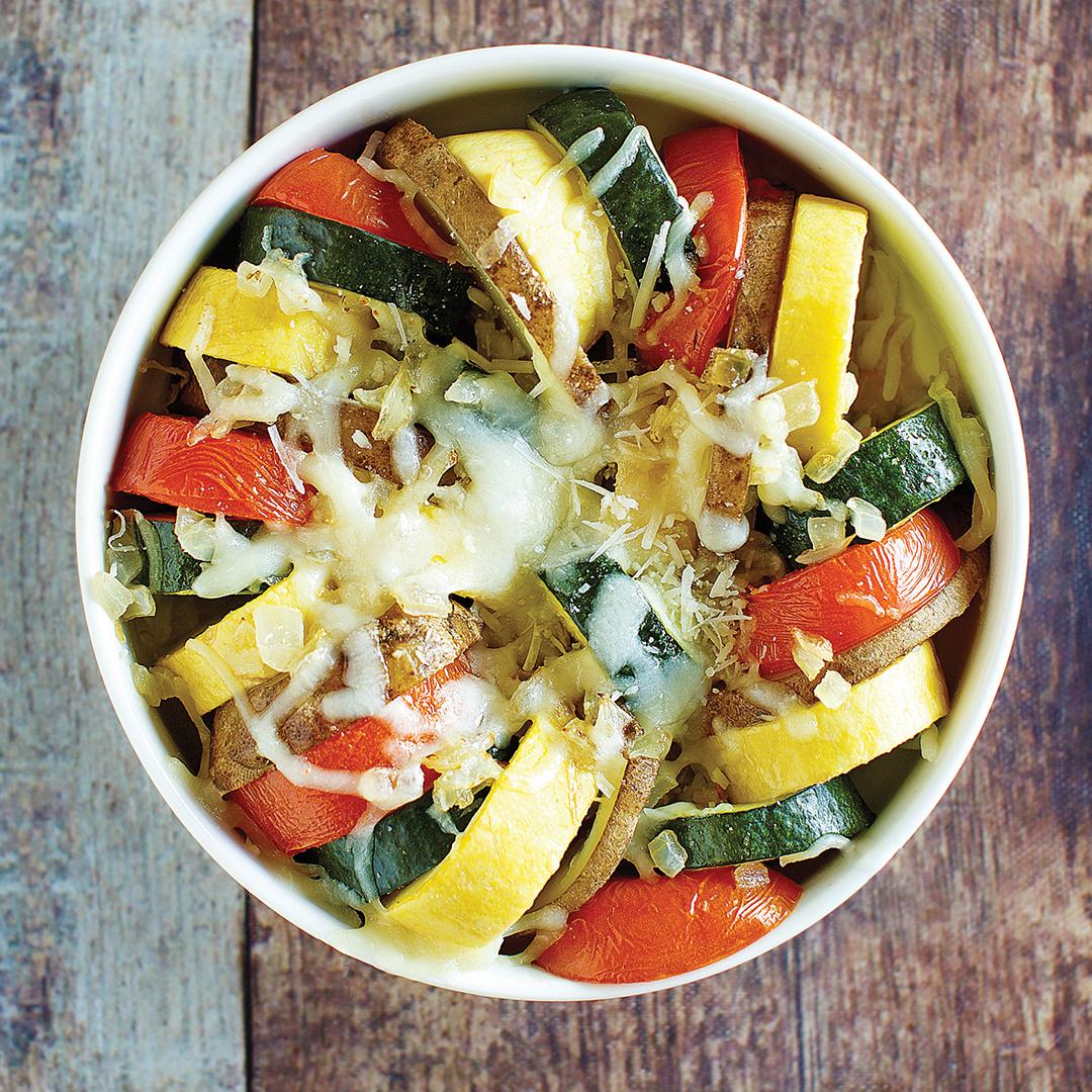 instant pot vegetable tian