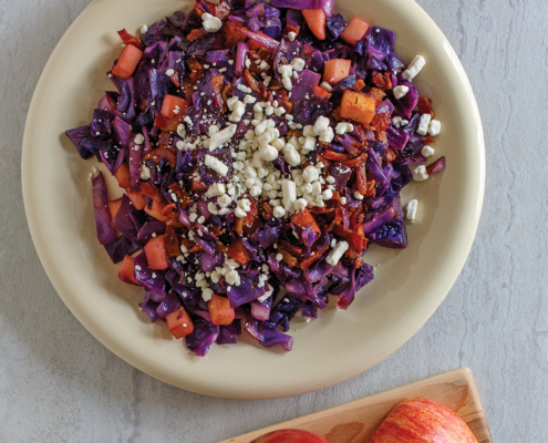 instant pot bacon red cabbage