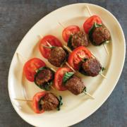 instant pot meatballs, instant pot caprese mini meat