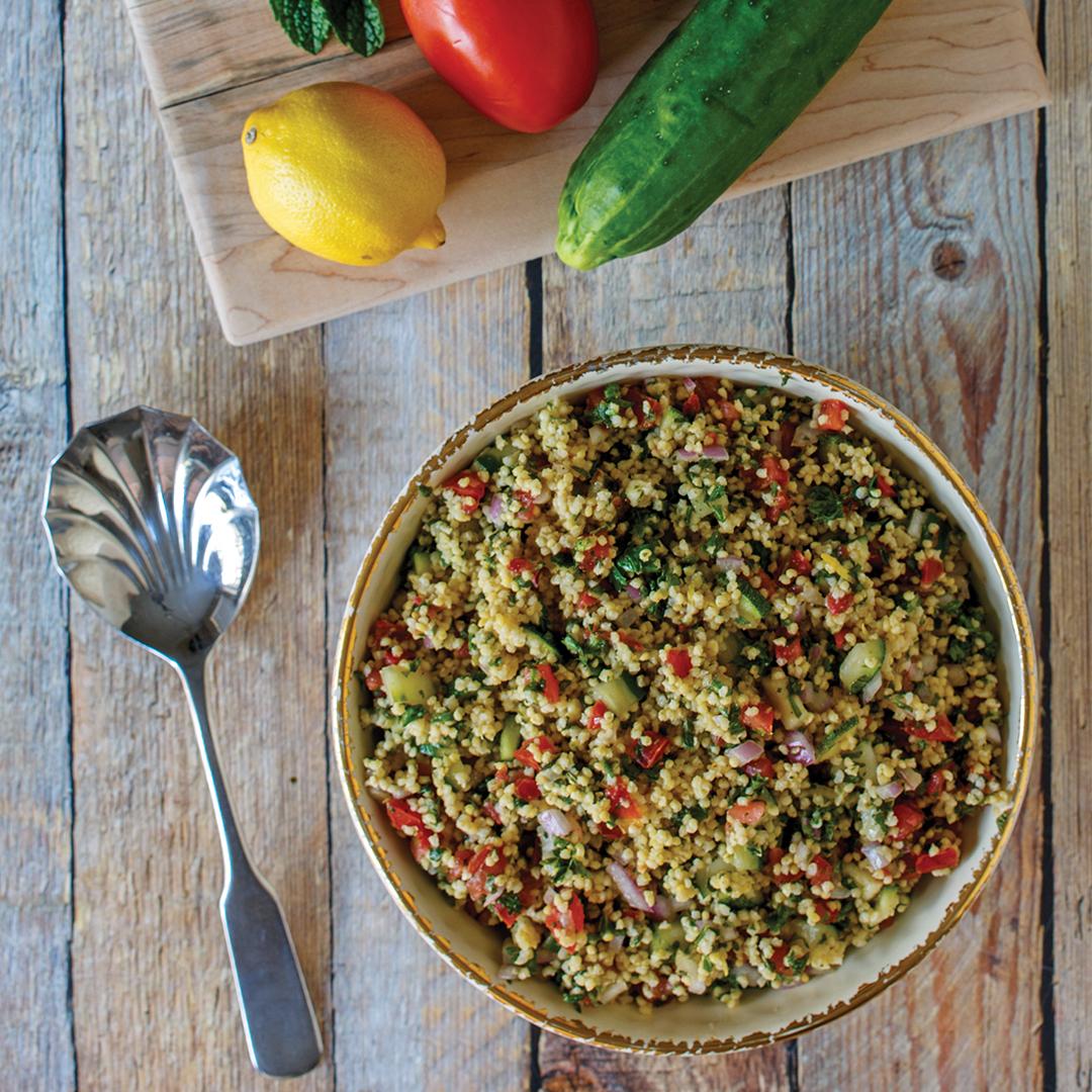 instant pot millet tabouleh, instant pot tabouleh, instant pot recipe, instant pot salad recipe