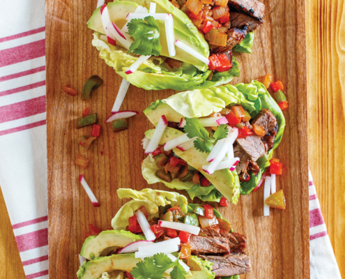 instant pot steak fajitas