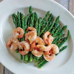 instant pot shrimp and asparagus