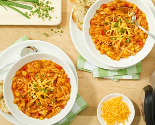 instaant pot chili, instant pot white chicken chili