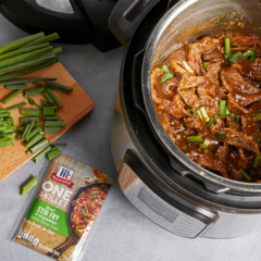 Mongolian beef recipe, instant pot recipe, instant pot Mongolian beef recipe, McCormick instant pot recipes,