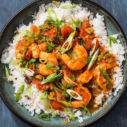 instant pot recipe, instant pot shrimp and rice, instant pot dinner, shrimp recipe