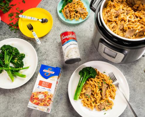 instant pot, campbells, instant pot easy meals