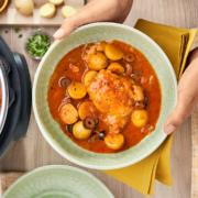 instant pot, instant pot recipes, instant pot chicken recipes, instant pot Mediterranean chicken recipe