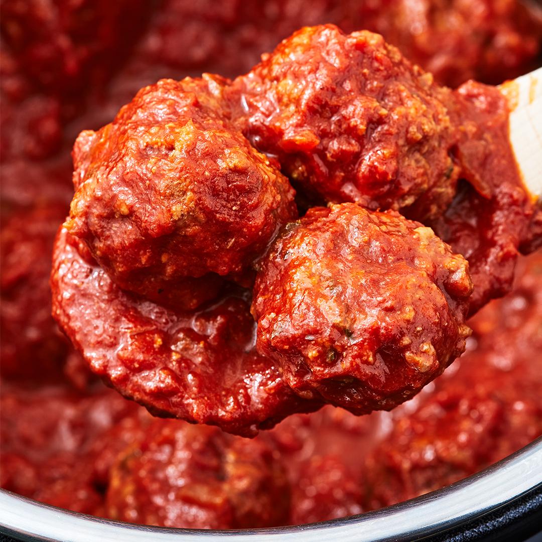 instant pot, instant pot recipes, instant pot meatball recipes, instant pot Italian meatballs
