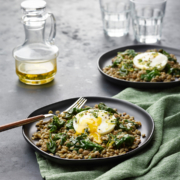 instant pot recipe, instant pot, instant pot lentils with poached egg, instant pot healthy recipes, instant pot egg recipes