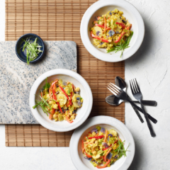 instant pot recipe, instant pot coconut curry vegetable rice