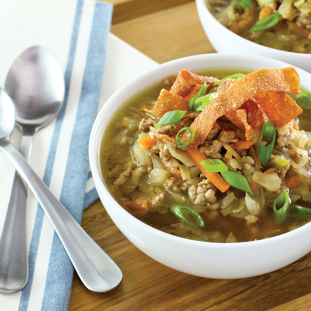 instant pot soup, instant pot recipes, instant pot, instant pot eggroll soup