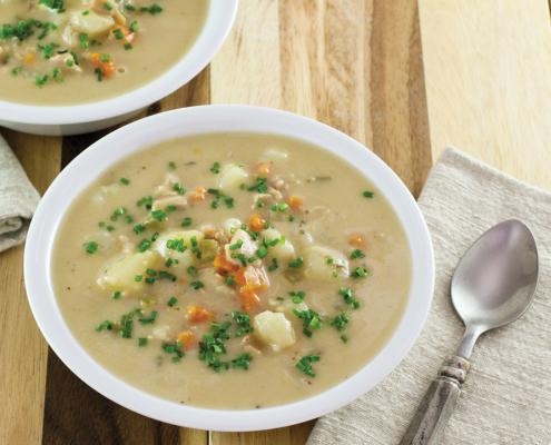 instant pot clam chowder, instant pot recipes, instant pot, instant pot soup recipe, instant pot lunch recipes