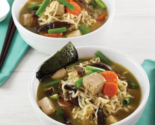 instant pot, instant pot recipe, instant pot vegetarian recipe, instant pot ramen, instant pot mushroom ramen