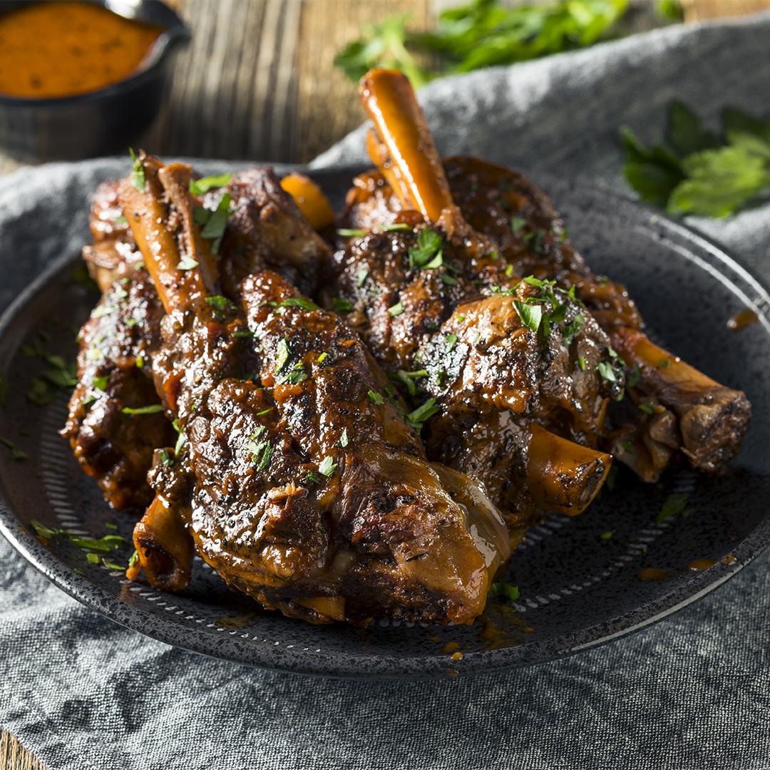 Spicy Korean Lamb Chops In The Instant Pot Duo Crisp Or Air Fryer Lid Official Instant Pot Recipes