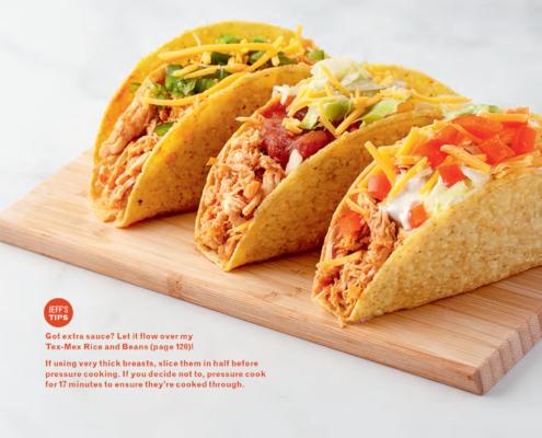 instant pot, instant pot recipes, instant pot tacos, instant pot dinner recipes