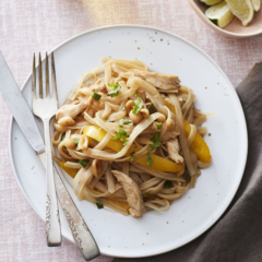 chicken pad thai, instant pot, instant pot recipes, instant pot chicken pad thai