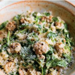 instant pot recipes, instant pot risotto