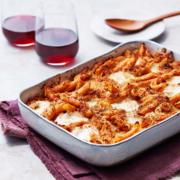 instant pot vegetarian recipes, eggplant parmigiana pasta, pressure cooker