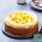 instant pot desserts, mango cheesecake, cheesecake recipes