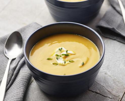 butternut squash soup, pressure cooker recipes, pressure cooker soups