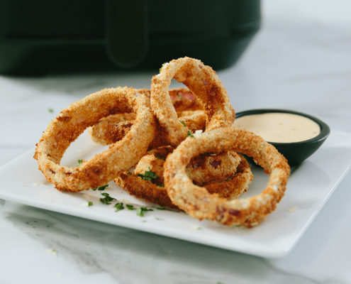 instant pot, instant brands, air fryer recipes, air fryer onion rings