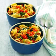 instant pot recipes, pressure cooker pasta, tortellini in brodo