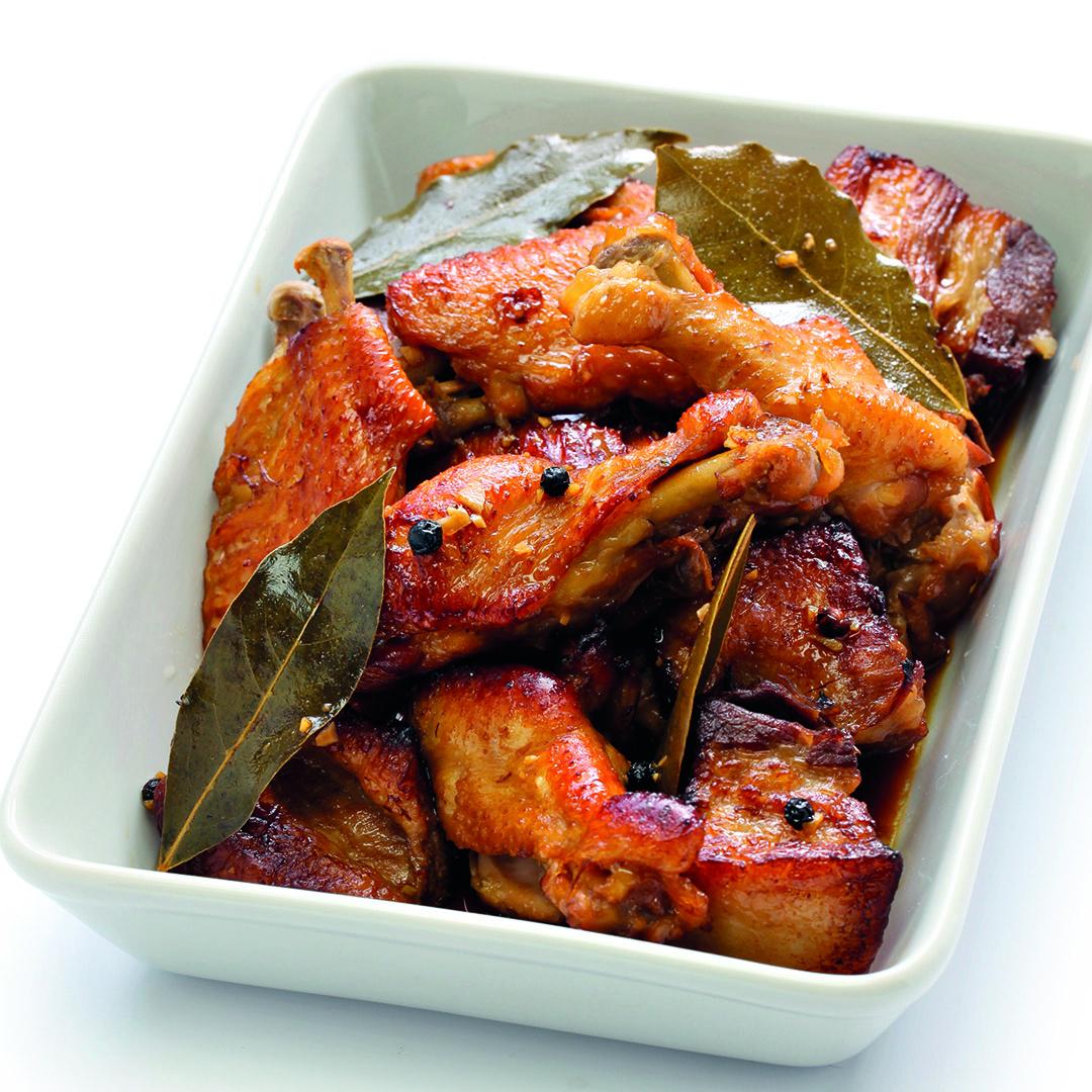 instant pot recipes, instant pot chicken adobo