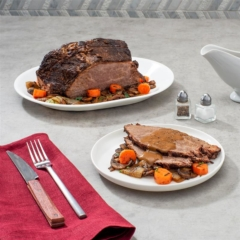 instant pot pot roast, coffee-braised, roast beef