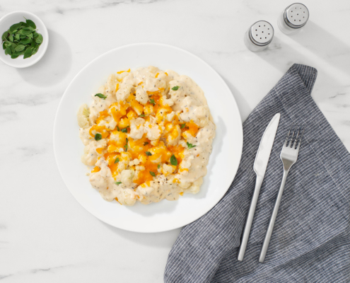 instant pot recipes, mac and cheese, cauliflower