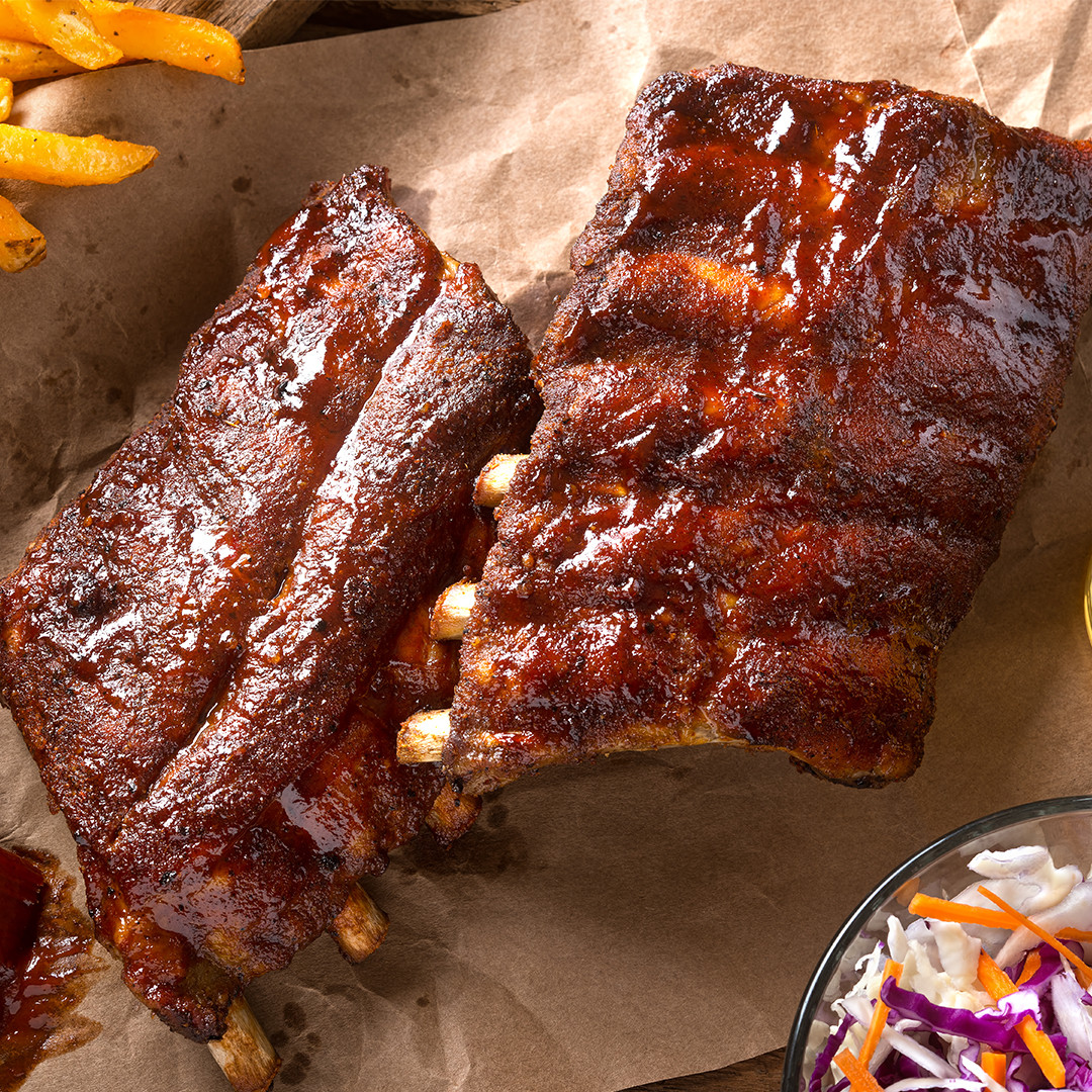 Rotisserie Pork Back Ribs