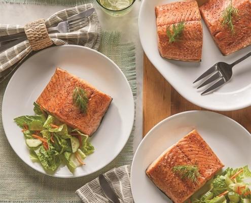 Teriyaki Salmon, Seafood