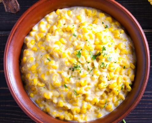Slow Cooked Mexican Street Corn Dip