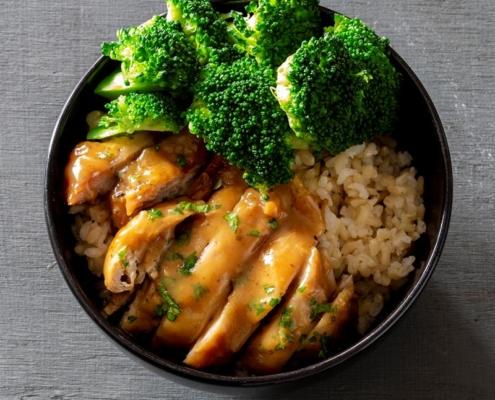 Slow Cooked Honey Garlic Chicken, Instant Pot Chicken Recipe