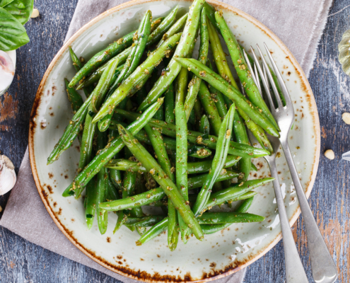 Black Bean Garlic Green Beans