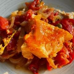 Slow Cooked Cod Marinara