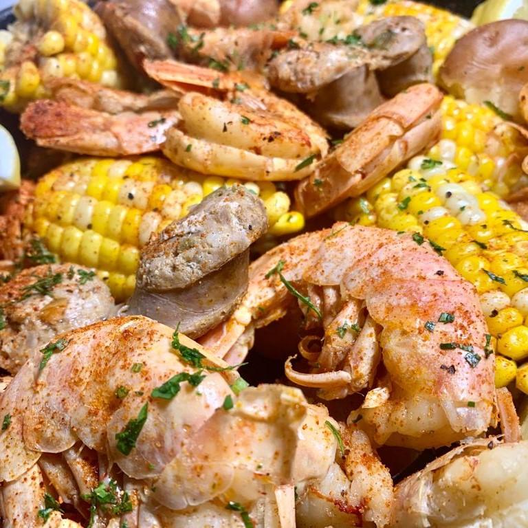 Slow Cooked Louisiana Shrimp Boil