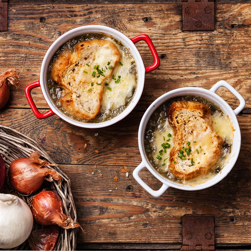 Slow Cooked French Onion Soup