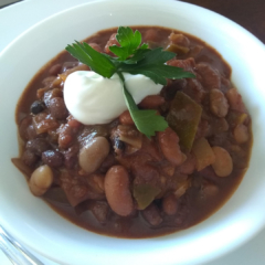Instant Pot Three Bean Chili
