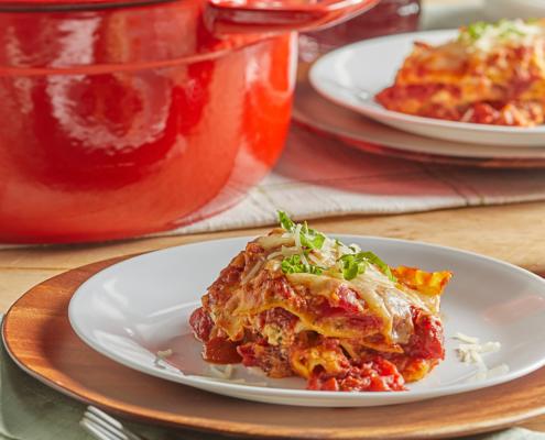 dutch oven recipes, lasagna recipes